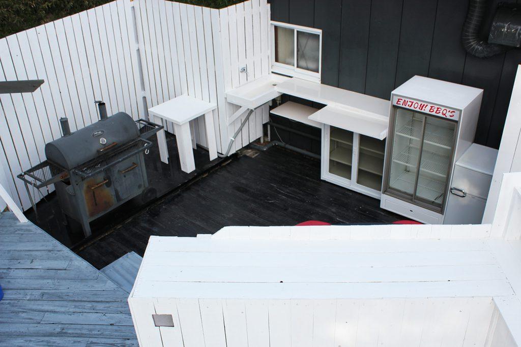 冷蔵庫・水道・調理場完備